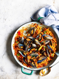 Mussels Orzo