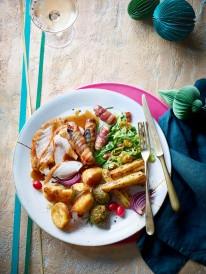 20.Waitrose Christmas Dinner plated